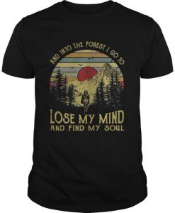 And into the forest Tshirt