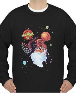 Tornado Dunk Space Jam sweatshirt Ad