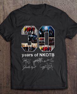 30 Years Of NKOTB New Kids On The Block t shirt Ad