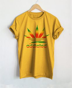 Addicted Weed T-Shirt Ad