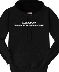 Alexa Hoodie Ad
