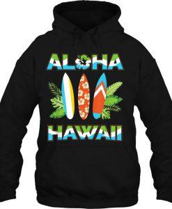 Aloha Hawaii hoodie ad