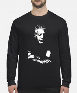 Anthony Bourdain sweatshirt Ad