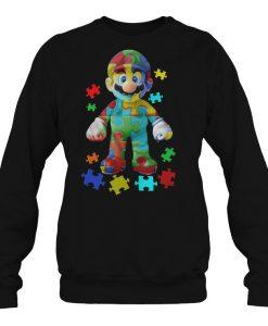 Autism Awareness Super Mario sweatshirt Ad