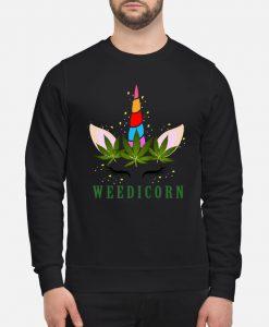 Unicorn weedicorn sweatshirt Ad