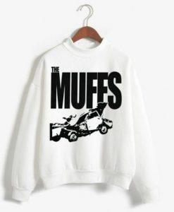 the Muffs White Sweatshirt Ad
