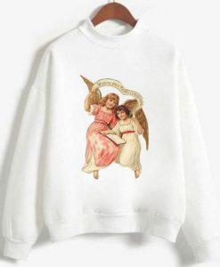 two Angels Sweatshirt Ad