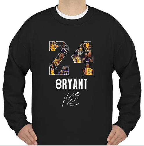 24 8ryant Kobe Bryant sweatshirt Ad