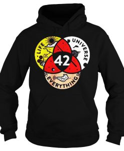 42 the answer to life the universe and everything hoodie Ad