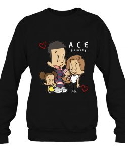 Ace Cartoon Family Merch Kids sweatshirt Ad