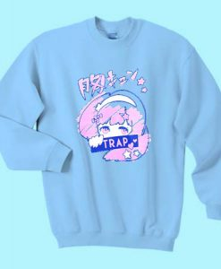 Anime Trap Girl Sweatshirt Ad