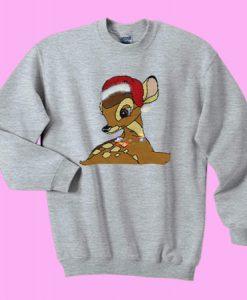 Bambi Christmas Sweatshirt Ad