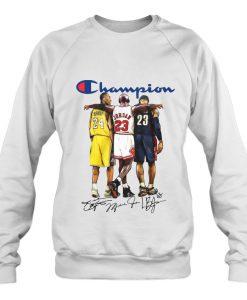 Basketball Champion sweatshirt Ad