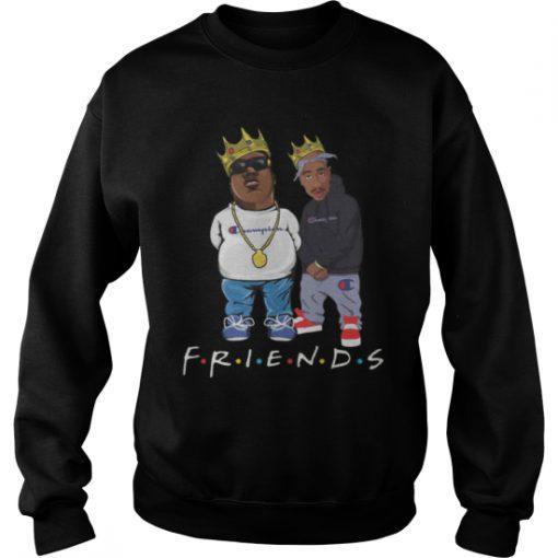 Biggie And Tupac Friends Champion sweatshirt Ad
