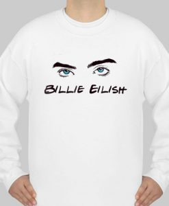 Billie Eilish Eyes sweatshirt Ad