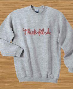 Thick Fil A Sweatshirt Ad