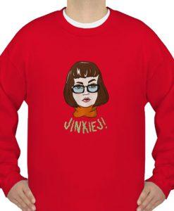 Velma Dinkley Jinkies sweatshirt Ad
