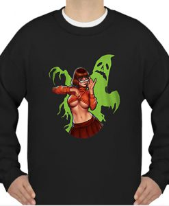 Velma Dinkley Scooby doo spooky ghost boobs sweatshirt Ad