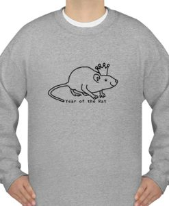 Year of the Rat with Crown sweatshirt ad