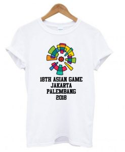 18th Asian Games T shirt
