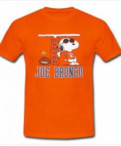 1980's Snoopy Denver Broncos T shirt