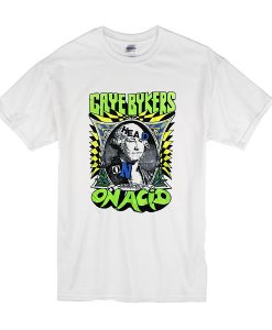 1988 Gaye Bykers on Acid Head On, Wigged Out Tour t shirt FR05