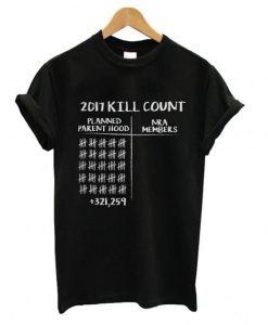 2017 Kill Count T shirt