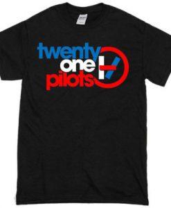 21 Pilots Black T shirt