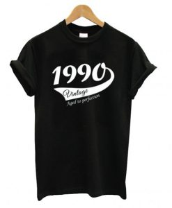 27th Birthday gift for woman or man 1990 T shirt