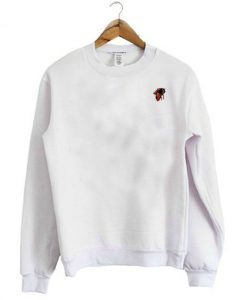 Bee White Sweatshirt