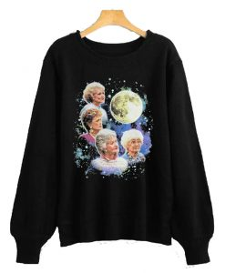 Bioworld The Golden Girls Women's Four Golden Girls Moon Sweatshirt