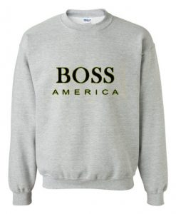 Boss America grey Sweatshirt