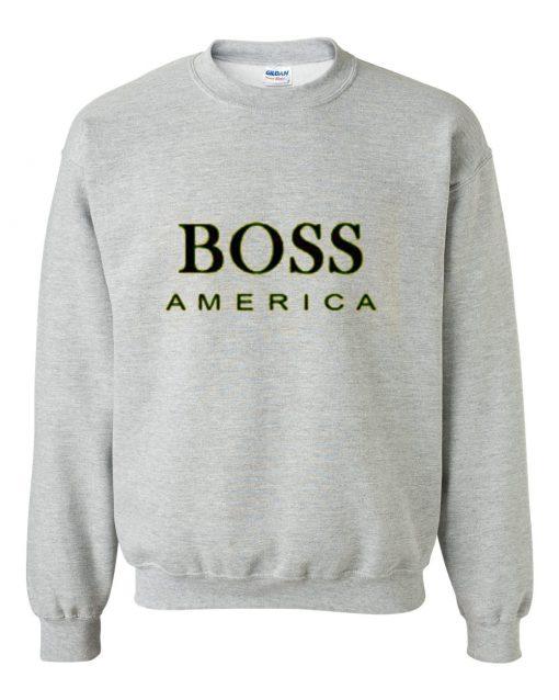 Boss America grey Sweatshirt