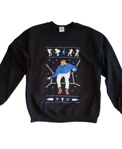 1-800 Hotline Bling Ugly Christmas Drake sweatshirt FR05