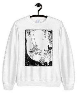 19th century children's books Kawaii Aesthetic sweatshirt FR05