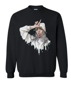 Billie Eilish Art sweatshirt FR05