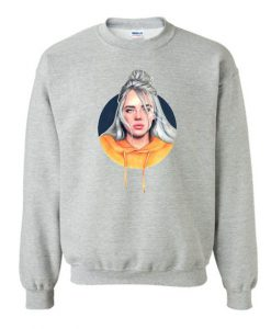 Billie Eilish Cartoon Art sweatshirt FR05