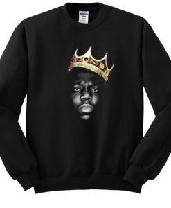 The Notorious BIG Crown sweatshirt FR05
