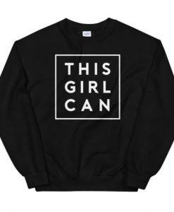 This Girl Can sweatshirt FR05