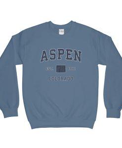 Aspen Colorado CO sweatshirt FR05