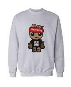 Baby Groot Supreme GC Mane Parody Sweatshirt FR05