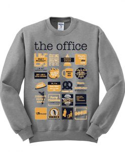 The Office Quote Mash Up Funny sweatshirt FR05