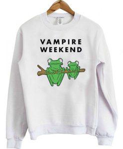 Vampire Weekend Frog sweatshirt FR05