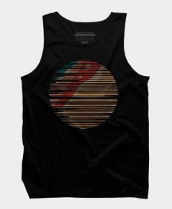 abstract sun tank top FR05