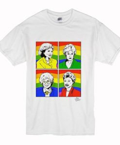 Pride Capsule Golden Girls t shirt FR05