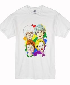 Pride Golden Girls t shirt FR05