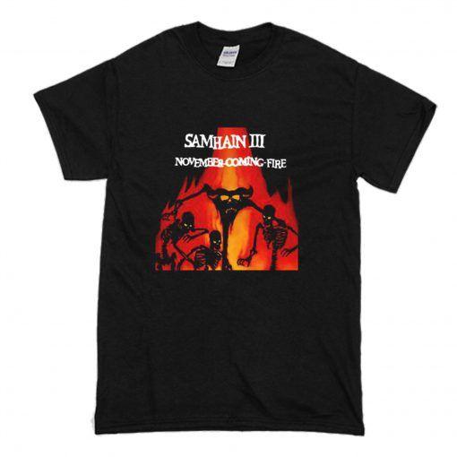 Samhain III November Coming Fire t shirt FR05