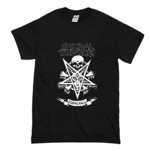 Suicidal Tendencies Official Possessed t shirt FR05