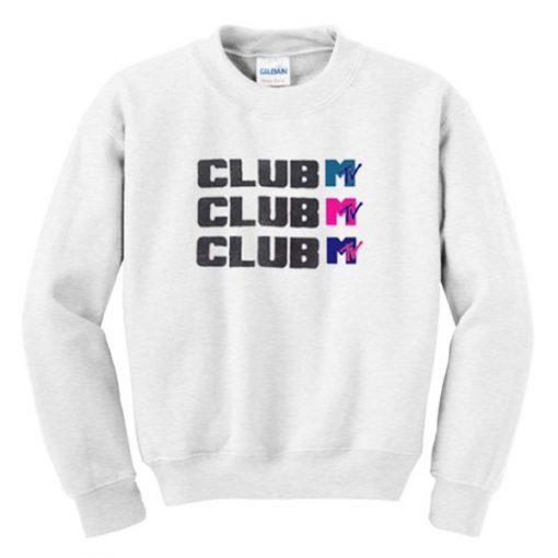 club mtv sweatshirt FR05